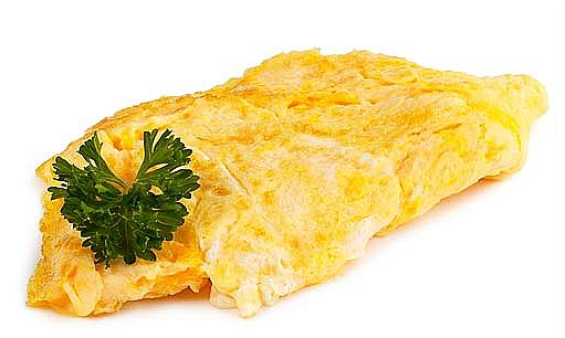Omelette comes from eggs. Where does time come from?