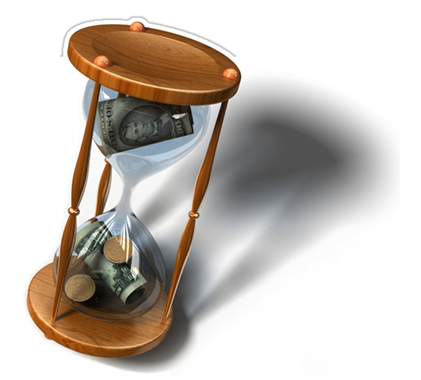 Time IS money (Source: http://www.timeforresults.com/images/TimeIsMoney.png)